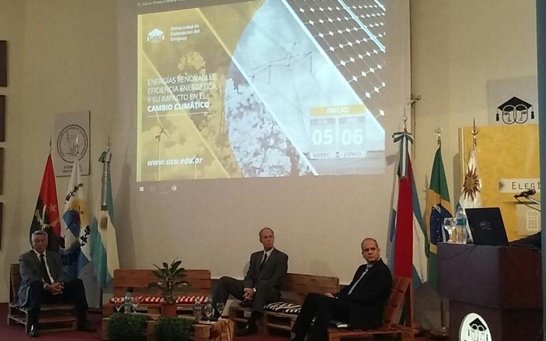 JORNADA SOBRE ENERGÍAS RENOVABLES, EFICIENCIA ENERGÉTICA Y SU IMPACTO EN EL CAMBIO CLIMÁTICO
