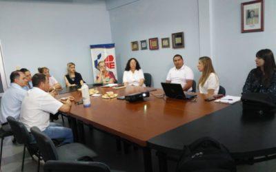 SE PRESENTO PROYECTO PILOTO SOBRE EFICIENCIA ENERGETICA PARA EL HOSPITAL SAN ROQUE DE VILLA ELISA